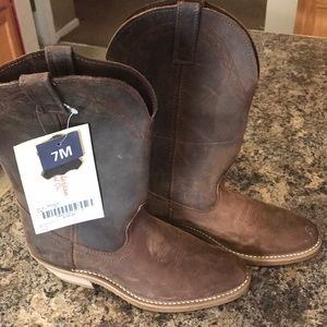 Women's Genuine Leather cowboy boots